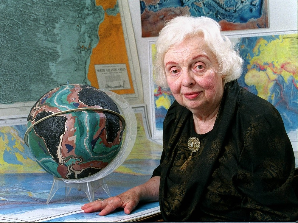8 Surprising Facts About Marie Tharp, Mapmaker Extraordinaire