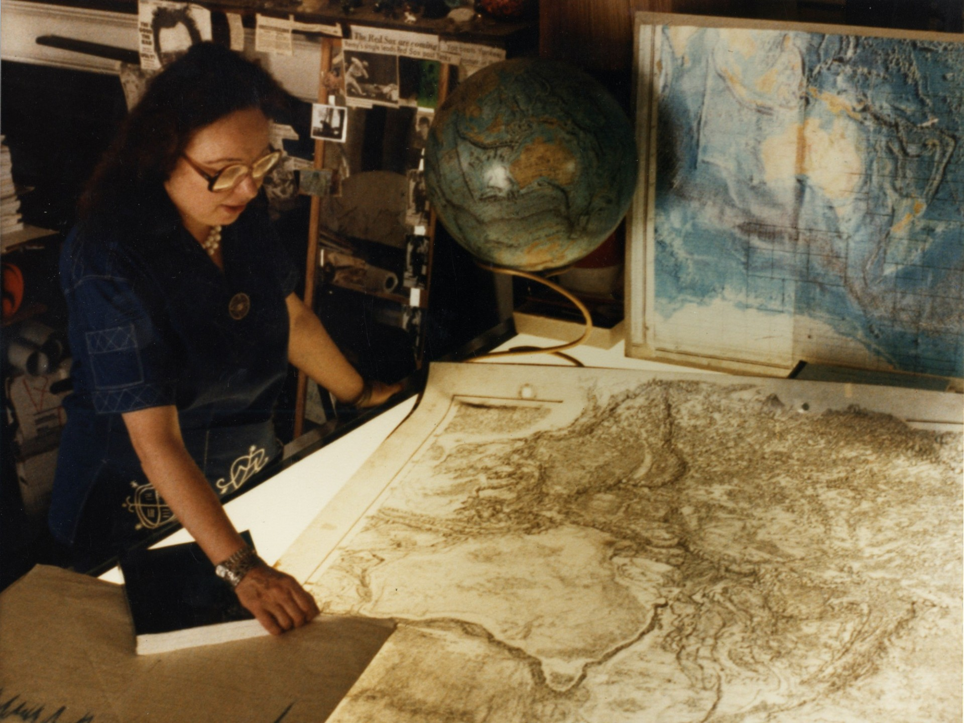 State of the Planet - Lamont's Marie Tharp: She Drew the Maps That Shook the World