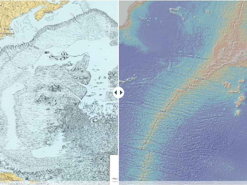 Marie Tharp's Seafloor: A Story Map for Marie Tharp's 100th Birthday by Dr. Vicki Ferrini